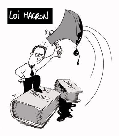 loi macron droit du travail