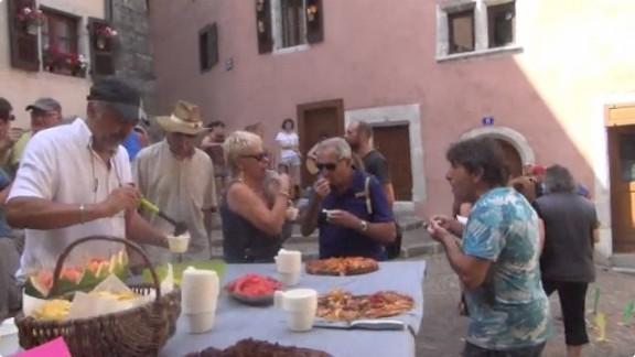 Herminette touristes