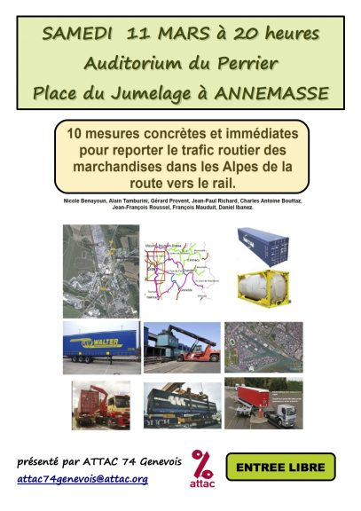 Affiche Ferroutage