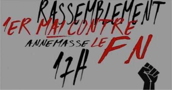 affiche maif anti-FN Annemasse