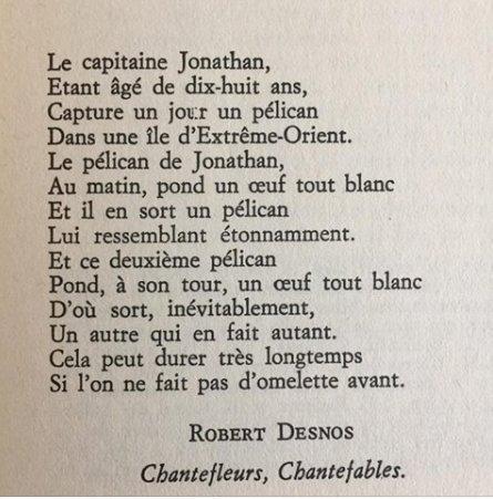 reproduction poème